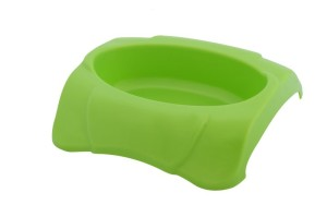 Plastic dog dish for small dogs and cats, can be used for a promotional item