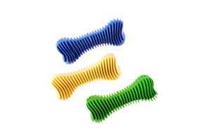Non-toxic dental rubber chewing dog toy
